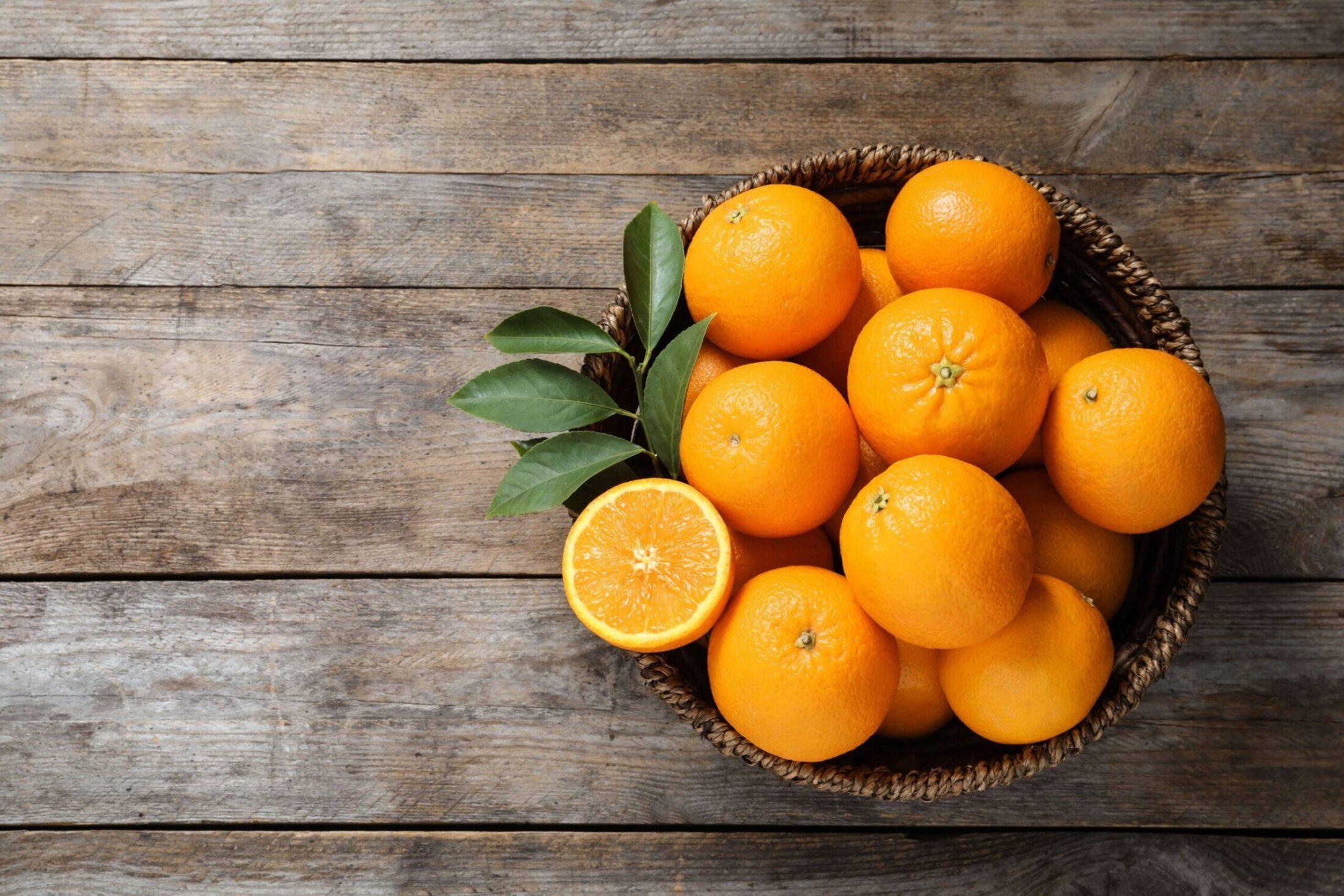 Appelsiner i fat